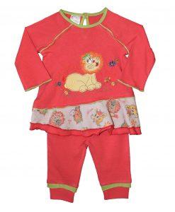 """Pyžamko pro holky """"Šťastná lvice"""""""