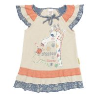 MKPL - Pouty Giraffe Kisses Swing Top