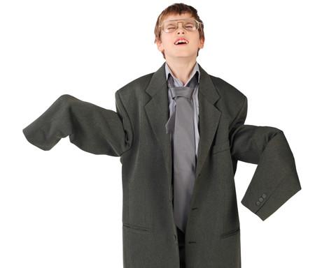 Proč nekupovat dětem větší oblečení