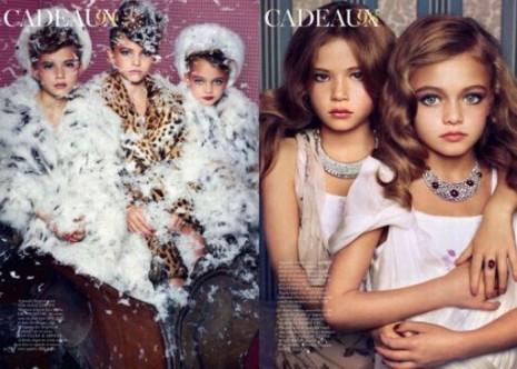 Malé modelky děti