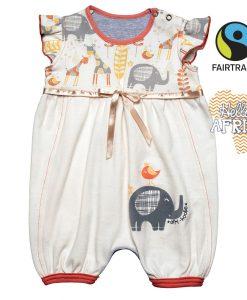 Letní bodýčko s nohavičkami - Afri hoolie - HAEF
