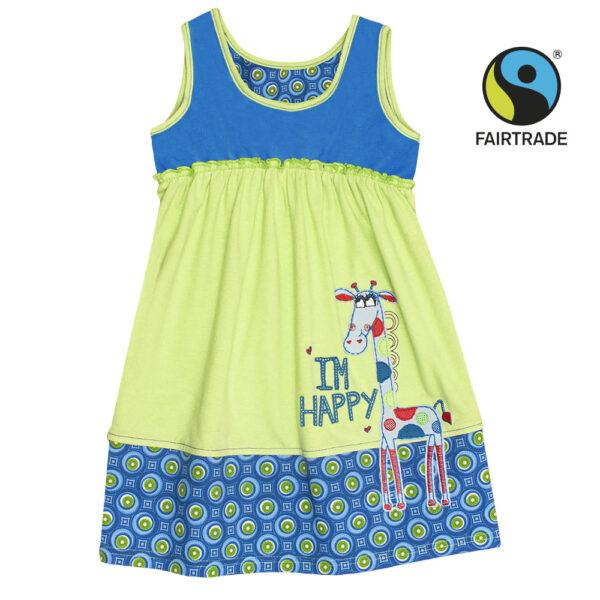 Letní holčičí bavlněné šatičky Etno I Fairtrade + biobavlna