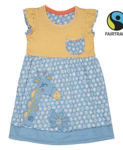 Letní šatičky - Žirafa s kvítky - ESFG