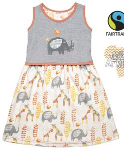 Letní šatičky na ramínka - Afri-hoolie - HAFP. Fairtrade