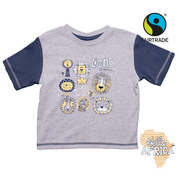 Tričko pro kluky Afričtí lvíčci - HALA