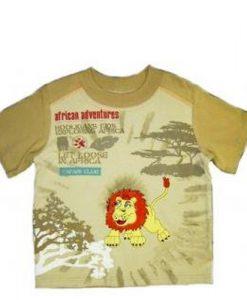 """Klučičí tričko """"Svobodný lev"""""""
