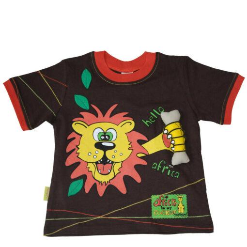 """Tričko pro kluky """"Chyť kost"""" z biobavlny a Fairtrade"""