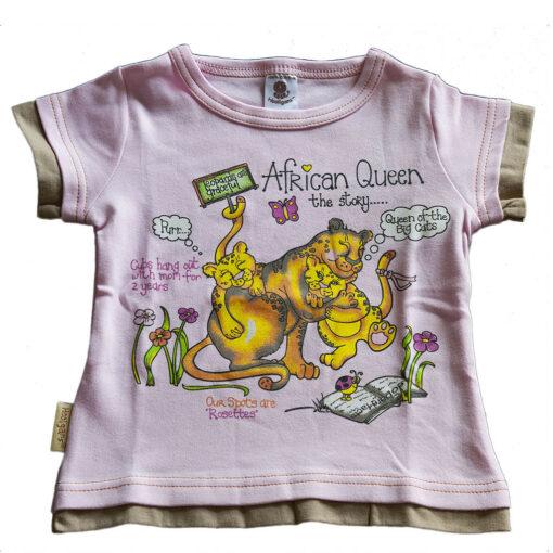 """Tričko """"Africká královna"""""""
