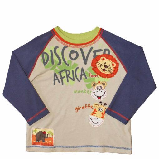 """Tričko """"Prozkoumej Afriku"""""""