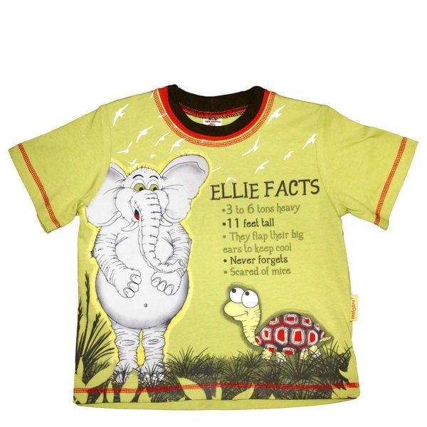 "Tričko ""Zajímavosti o Ellie"""