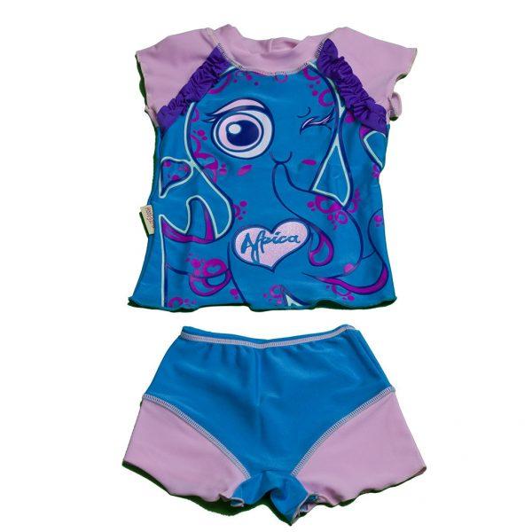 """Plážový obleček """"Africká chobotnice"""""""