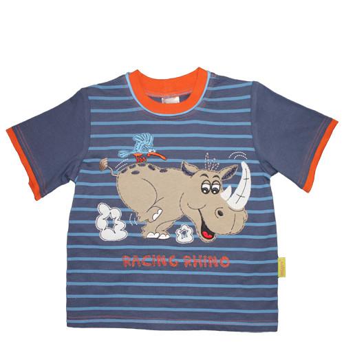 """Tričko """"Nosorožec závodník"""""""