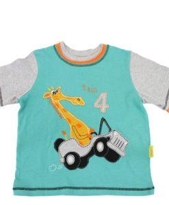 """Narozeninové tričko """"Jsou mi čtyři"""""""