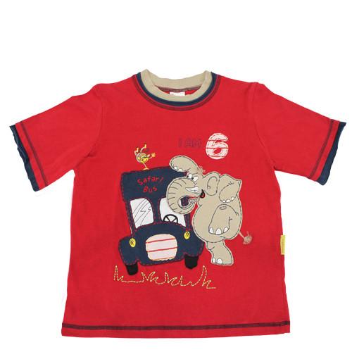"""Narozeninové tričko """"Je mi šest"""""""